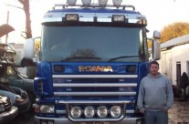 Wayne with Liftech Truck