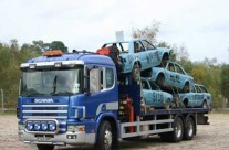 Liftech Truck Carrying Cars