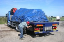 Covering Haulage
